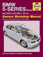 Haynes Workshop Repair Manual BMW 5 Series Diesel 03-59